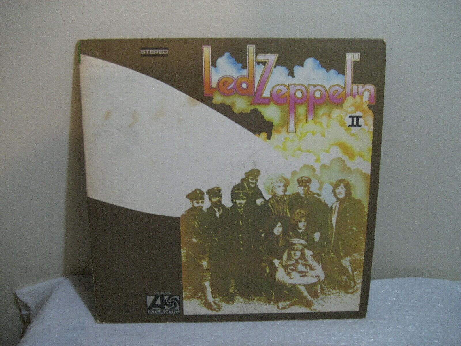 LED ZEPPELIN 11 33 rpm lp record 1969