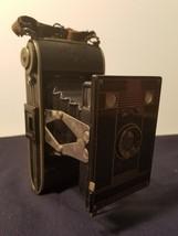 AGFA BILLY CLACKNR.: 74 6X9CM ON 120 ROLLFILM ART DECO camera - $74.25
