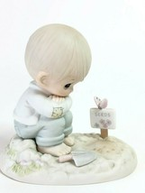 Precious Moments In His Time Special Edition PM-872 Vintage 1987 Members Club - $29.69