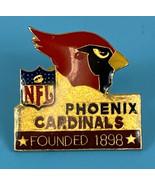NFL Football Phoenix Cardinals Arizona Founded 1898 Lapel Hat Pin Vintag... - $12.12