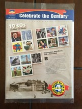 USPS Celebrate the Century 1930s Mint Stamp Sheet Set in original packaging - $25.00