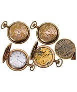 IL,Elgin-,0 Size Ladies 14K Multicolored Gold Elgin Pocket Watch with Di... - $1,175.00