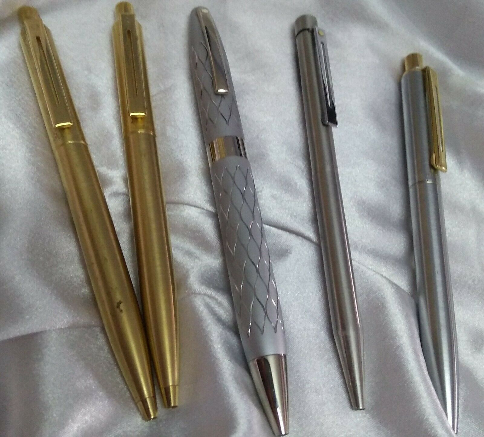 5 pc sheaffer ballpoint pen vintage