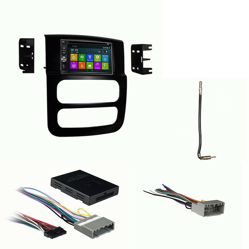 Primary image for DVD GPS Navigation Multimedia Radio and Dash Kit for Dodge Ram Trucks 2002-2005