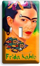 COLORFUL PORTRET FRIDA KAHLO MEXICAN ARTIST SIN... - $7.99
