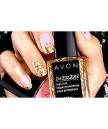 Avon Dazzlers Top Coat Glitzy Gold - $12.99
