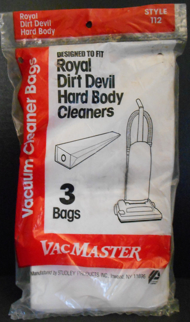 Primary image for VacMaster Vacuum Cleaner Bags fits Royal Dirt Devil Hard Body Cleaners 3 Bags