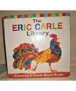 The Eric Carle Library  8 Classic Board Books  NIP Sealed - $19.00