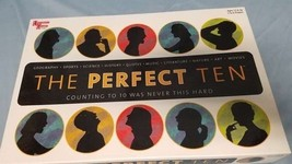 The Perfect 10 Board Game Sealed New by University Games 01860 - $18.50