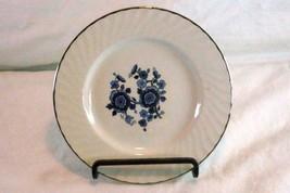 "Wedgwood Royal Blue Bread Plate 5 7/8"" - $3.59"