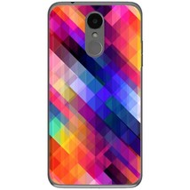 Stripes obliquely multicolored LG K4 2017 Phone Case - $15.99