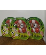 LOT OF 3. Each pkg has16 plastic Eggs  4 Different Tattoos Designs for e... - $4.89