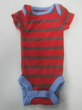 Carters Child of Mine short sleeve stripe romper SIZE PREEMIE - $2.92