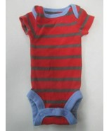 Carters Child of Mine short sleeve stripe romper SIZE PREEMIE - $2.92