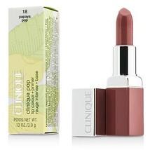 Clinique Pop Lip Colour + Primer - # 18 Papaya Pop  - $40.00