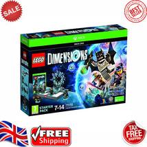 LEGO DIMENSIONS STARTER PACK XBOX ONE TT Games 5051893232028 FREE SHIPPI... - $62.13