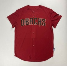 Majestic MLB Arizona Diamondbacks Full Button Cool Base Game Jersey Men's 6840 - $14.99+