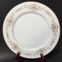 "Dinner Plate Rose China Kathy Japan 10.25"" Flowers Basket - $9.74"