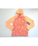 Nike Girls Therma Hoodie Sweatshirt - 806015 - Orange Peach 835 - Size M... - $18.99
