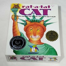 Rat-A-Tat Cat Card Game Best Toy Award Age 6+ Rat A Tat Gamewright Complete - $9.95