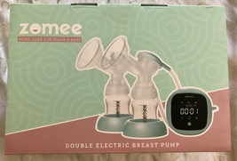 Zomee Double Electric Breast Pump – Milk Flow Stimulating Massage with 9... - $99.95