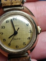 VERY RARE Vintage 1972 Ladies Timex Electric Spoon Quartz Watch WR German - $19.79