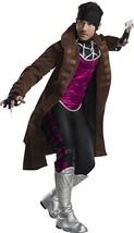 Charades Gambit Marvel Comics X-Men Supereroe Adulto Uomo Costume Halloween - $119.68