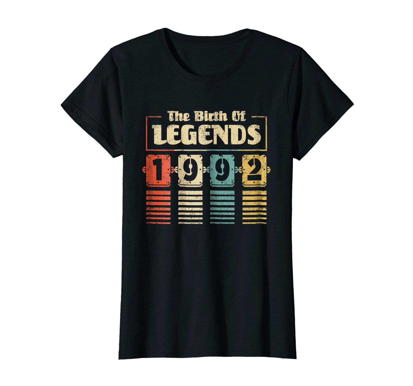 Funny Shirts - Retro The Birth Of Legend 1992 26th Birthday Gift 26 yrs old Wowe image 3