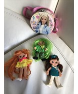 Vintage 1969 Ideal Flatsy Doll Collection and Mattel Barbie case - $74.24