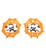 ENJOY® Snow Grippers For Shoes Ice Creepers Ice Traction Cleats Easy Over - $15.81
