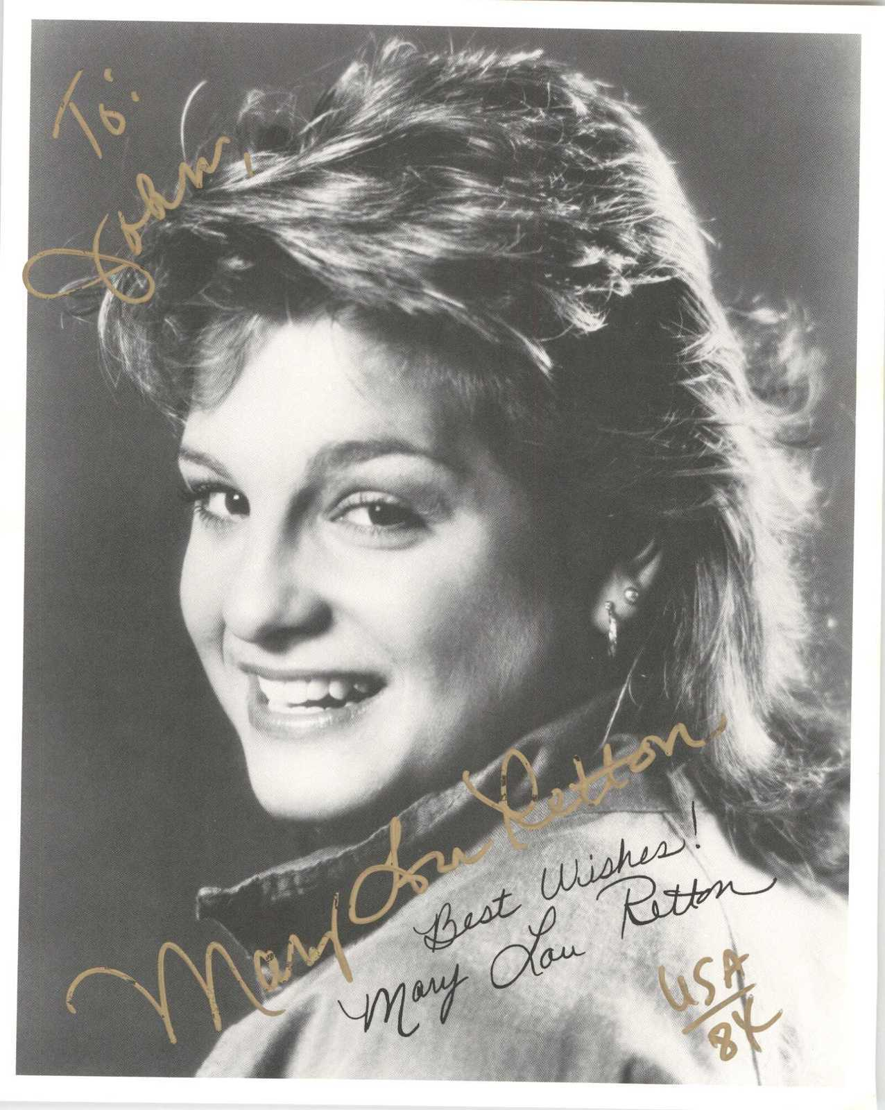 Primary image for Mary Lou Retton Signed Autographed Glossy 8x10 Photo