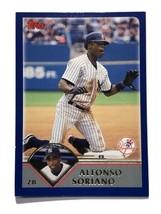2002 Topps #90 Alfonso Soriano New York Yankees MLB Baseball Card - $0.99