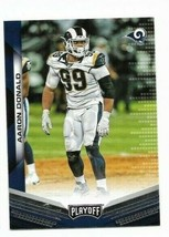 2019 Panini Playoff card #171 - Aaron Donald - LA Rams - NM/MINT - $1.09