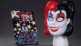 Harley Quinn Mask & Book Set SIGNED Amanda Conner & Jimmy Palmiotti Art TPB - $49.49