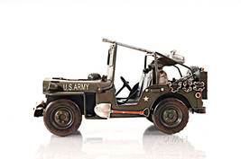 """1940 Willys Overland Jeep Model Desk Decor 11"""" 1:12 Scale US Army WWII New - $69.19"""