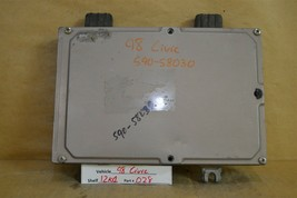 1998 Honda Civic CX DX LX AT Engine Control Unit ECU 37820P2EL82 Module 28 12K4 - $9.89