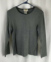 Talbots Gray Sweater Small - $14.84