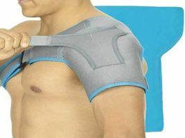 Arctic Flex Shoulder Ice Pack Brace - Cold Reusable Cool Gel Wrap, Hot Therapy image 4