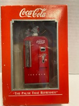 1989 Enesco Christmas Ornament - Coca Cola The Pause that Refreshes - $8.42