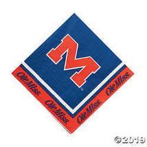 NCAA(TM) University of Mississippi Luncheon Napkins  - $4.24