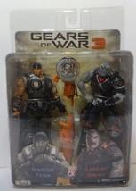 NECA GEARS OF WAR 3 MARCUS FENIX  LOCUST GRUNT COG TAGS Sealed TRU - $51.43
