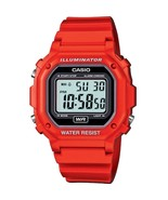 Casio Men's F-108WHC-4A Classic Red Resin Band Watch - $20.30