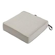 "Classic Accessories Montlake Patio FadeSafe Seat Cushion, Grey, 19""Wx19""Dx5""T - $48.21"