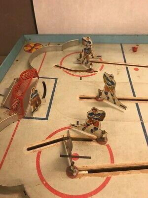 Vintage NHL Superior Action Hockey Table Game Toy Cohn Blackhawks Rangers image 5