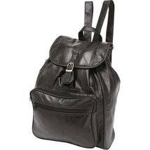 Womens Girls Lambskin Leather Tote Case Bag Back Pack Convertible Purse ... - $29.65