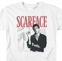 Scarface Retro 80s movie Al Pacino graphic cotton T-shirt UNI1003 image 2