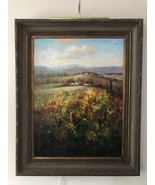Wall Canvas Oil Painting With Crown Antique Gold Frame - The Heaven - $4,949.99