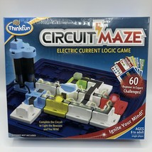 ThinkFun Circuit Maze Electric Current Logic Game STEM Toy Circuitry New Sealed - $24.75