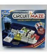 ThinkFun Circuit Maze Electric Current Logic Game STEM Toy Circuitry New... - $24.75