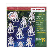 Darice Christmas The Beadery Ornament Kit: Victorian Angels, 0.75 x 2in,... - $17.99